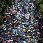 홍콩,정부,중국,선거법,공론,투표소,본토,과정