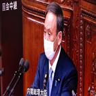 총리,한국,스가,관계,문제,정부,연설,일본,납치,현안