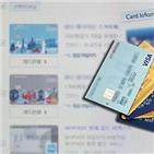 카드론,이용액,대출,올해,지난달,작년