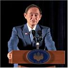 한국,스가,총리,일본