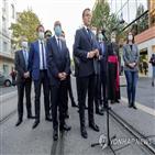 프랑스,마크롱,대통령,만평,무함마드