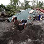 태풍,필리핀,고니,최소,상륙