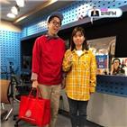 김영철,박지선,후배,라디오