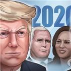 트럼프,대통령,바이든,대선,부통령,미국,코로나19,토론,대법관,위기