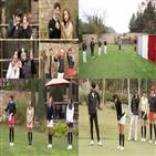 프로,골프,러브샷,미녀,권혁수