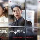 복수,캐릭터,윤현민,김사랑,촬영,눈빛,현장