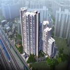 아파트,중소형,예정,망우역,서울,신원아침도시,공간,가운데,분양