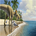 바다,아프리카,공룡,오리주둥이,화석