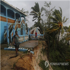 허리케인,니카라과,온두라스,산사태,열대성