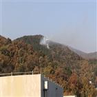 화재,광교산