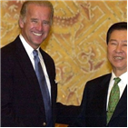대통령,바이든,김대중,당선인,편지,넥타이