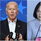 대만,미국,중국,트럼프,바이든,대통령,총통,관계,차이,변화