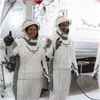 우주비행사,크루,유인,드래건,스페이스,발사,캡슐,시험비행,우주선