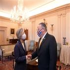 장관,미국,폼페이,협의,외교부,동맹,한반도