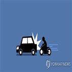 오토바이,차량,사고,과실비율위원회,과실,후행,오른쪽