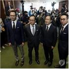 홍콩,중국,대한,의원,비판,제재,캐나다,영국,박탈