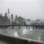 폭풍,침수,탬파