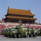 중국,미사일,남중국해,미국,발사