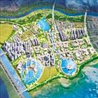 새만금,새만금개발청,조성,사업,착공,수변도시,동서도로