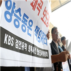 KBS,징계,보도