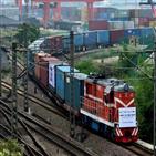 중국,유럽,국제화물열차,코로나19,운행,편수