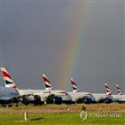 영국항공,코로나19,검사,계획,비행기