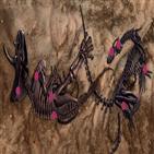 공룡,화석,연구,티라노사우루스,트리케라톱스,혈투