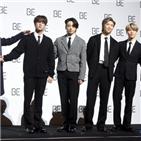 방탄소년단,그래미,후보,어워즈,빌보드