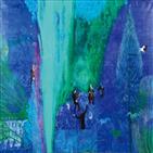 오로라,해바라기,생명,사람,화백,작품,파리,푸른빛