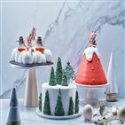 케이크,크림,무스,초콜릿,크리스마스