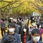 신규,이날,일본,월요일,확진자가,연휴