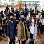 홍콩,차우,혐의,이날
