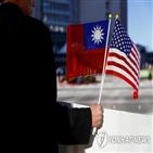 대만,방문,중국,미국,스튜드먼,행정부,미군,관리,소장,인도