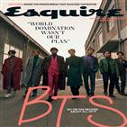 방탄소년단,에스콰이어,앨범,미국,매거진,커버,남성
