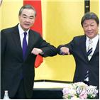 중국,일본,양국,코로나19,외교부,외무상,모테기