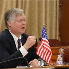 방한,부장관,북한,대북특별대표,가능성