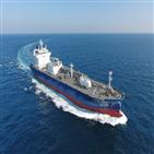 한국조선해양,선박,수주,이중연료
