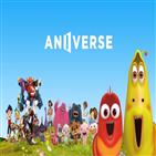 애니버스,플랫폼,애니메이션,블록체인,콘텐츠