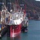 선박,대우조선해양,선적작업,세계,최초,성공