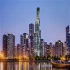 시카고,타워,빌딩,호텔,비스타,마젤란그룹,세인트,중국,레지스,미국