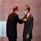 중국,한국,신냉전,외교부,부장