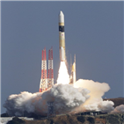 발사,데이터중계위성,로켓,일본