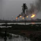 공격,이라크,중동,정유시설,로켓,시설,미군,석유시설