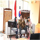 바틱,인도네시아,행사,대사관