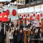 일본,코로나19,확진,여행