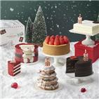 케이크,크리스마스,예약,시즌,판매