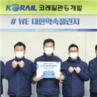캠페인,코레일관광개발
