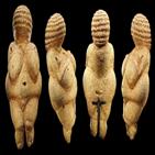 여성,비만,고대,허리,빙하기,임신