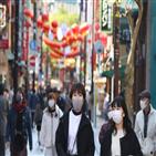 일본,사업,확진,정부