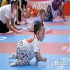 중국,인구,경계선,아래,출산율,저출산